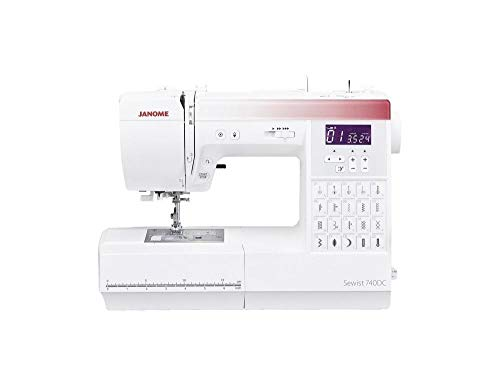 Janome Máquina de coser computarizada 740DC