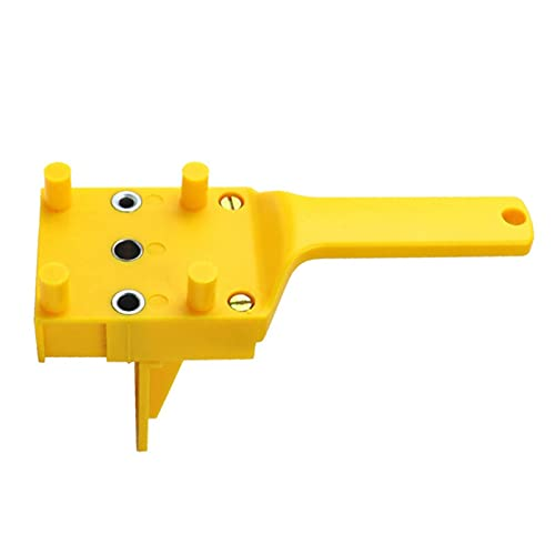 LUYIPINGQIWND Quick Wood Doweling Jig ABS Plastic Handheld Pocket Hole Jig System 6/8/10mm Drill Bit Hole Puncher for Carpentry Dowel Joints (Color : 100PCS M6X40)