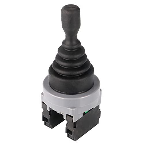 GUUZI Controladores de Interruptor de Palanca de Mando 2 Posiciones 2NO Tipo Momentáneo 150 V/250 V/380 V 30 mm Montaje en Panel Retorno por Resorte Interruptor de Palanca de Mando Monolever Joystick