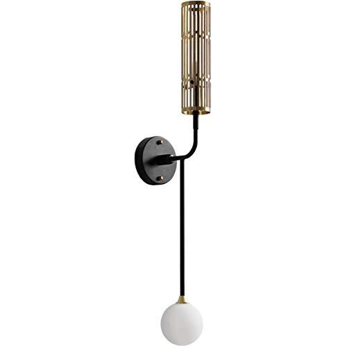 Moderne led-leeslamp met dubbel hoofdeinde Nordic Creative Fari G4 * 2 lampenkap van glas slaapkamer woonkamer keuken kantoor wandlamp metaal