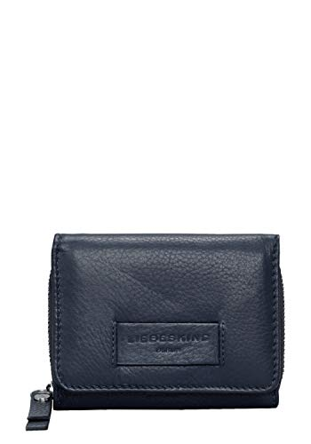 Liebeskind Berlin Damen Essential Pablita Wallet Medium Geldbörse, Blau (Navy Blue), 2x9x11 cm