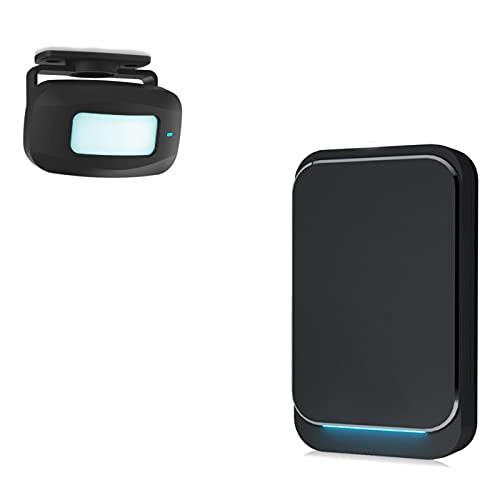 Aktivstar Sensore di movimento con suono allarme per ingressi/sensore di movimento per casa e negozio,...