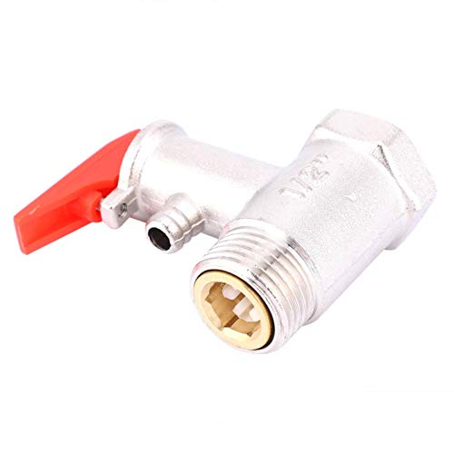 Válvula de seguridad G1 2in, válvulas de calentador de agua de 0.9MPa, scalda bagno, válvula de alivio de presión de laton para reemplazo perfecto eléctrico del hogar