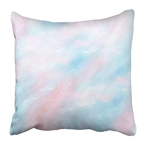 AEMAPE Throw Pillow Cases Intrigante Abstracto Brillante Similar a Las Perlas de Seda Delicados Tonos Pastel Que envía la Funda de cojín de 40x40 cm de Vacaciones