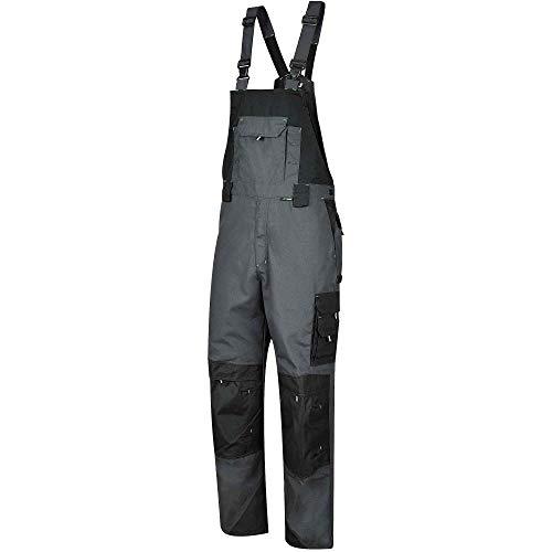 BWOLF Brave Latzhose Herren Arbeitshose Schutz-Latzhose mit Kniepolster-Taschen (XL)