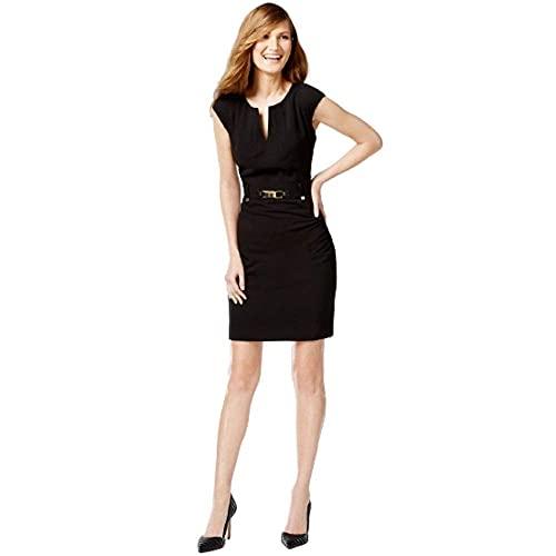 Vestido Dorado  marca Calvin Klein