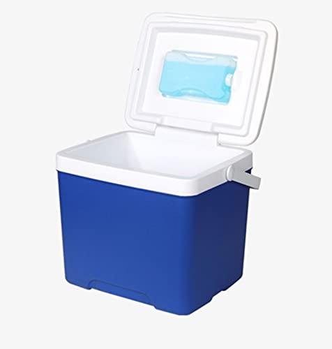 Incubadora al aire libre móvil refrigerador congelador coche portátil caja de mantenimiento fresco bolsa de hielo cubo de hielo puesto comercial bolsa de almacenamiento en frío 15L