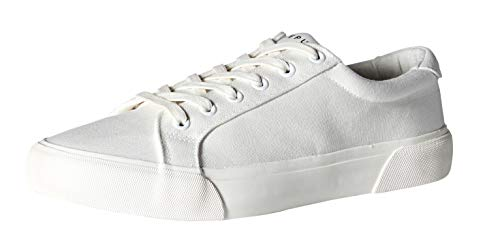 New Republic Men's Ellroy Canvas Sneaker - White (9)