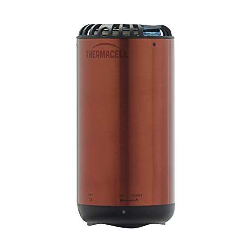 Thermacell Patio Shield Mosquito Repeller, Highly Effective Mosquito Repellent for Patio; No Candles or Flames, DEET-Free, Scent-Free, Bug Spray Alternative; Includes 12-Hour Refill