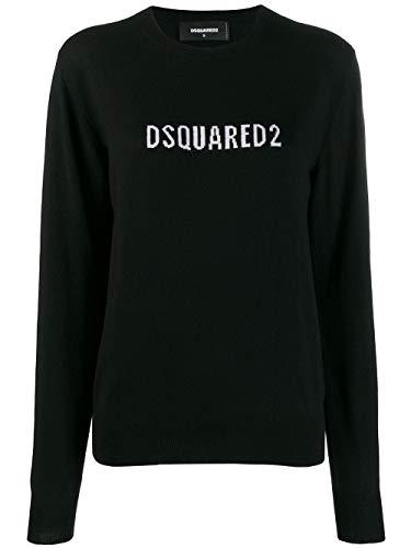Luxury Fashion | Dsquared2 Dames S72HA0866S16813965 Zwart Wol Truien | Herfst-winter 19