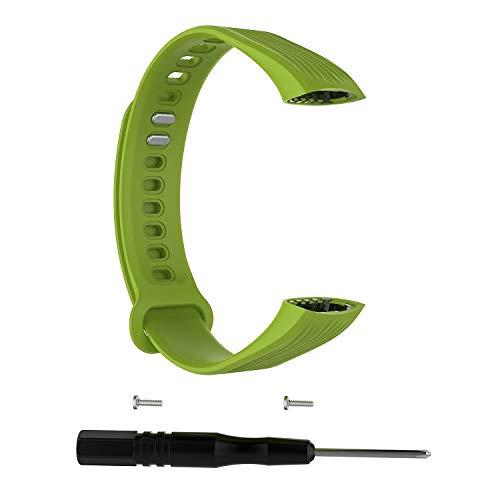 RONSHIN Smart Watch Band Polsband voor Huawei Honor 3 Verstelbare Maat Leuke Armband Met Reparatie Gereedschap Vervanging Accessoire Groen