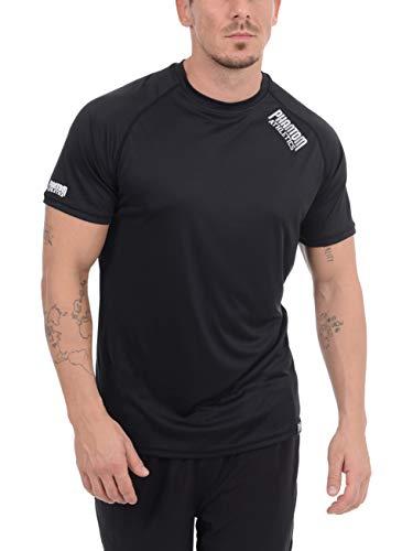 Phantom Athletics Herren Trainingsshirt für Fitness - Atmungsaktiv und Leicht - Athletischer Schnitt - Für Crossfit, Ausdauersport (S)