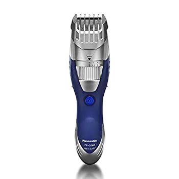 Panasonic Cordless Men s Beard Trimmer With Precision Dial Adjustable 19 Length Setting Rechargeable Battery Washable - ER-GB40-S  Blue