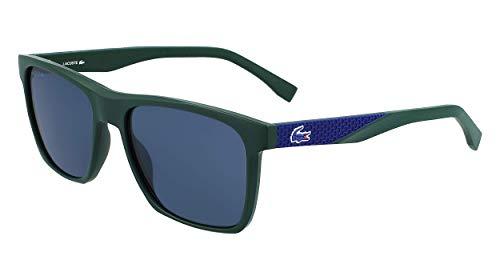 LACOSTE EYEWEAR L900S-318 Gafas, Dark Olive Matte, 56/17/150 para Hombre
