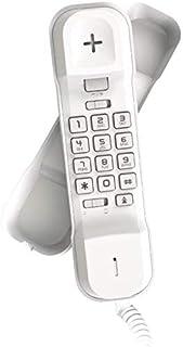 هاتف أرضي سلكي من الكاتيل أبيض T02