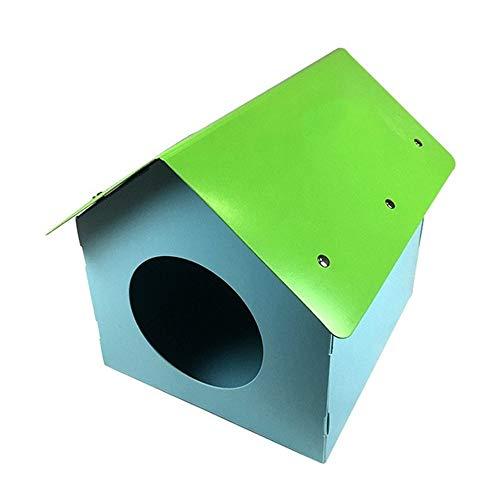 XYBB hondenbed voor honden, waterdicht, voor huisdieren, hondenbed voor buiten, van kunststof, afneembaar en wasbaar, 41x37x41cm, Immagine a colori33