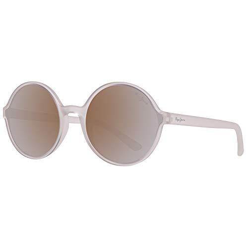 Pepe Jeans PJ7286C457 Gafas de sol, Transparente, 57 Unisex