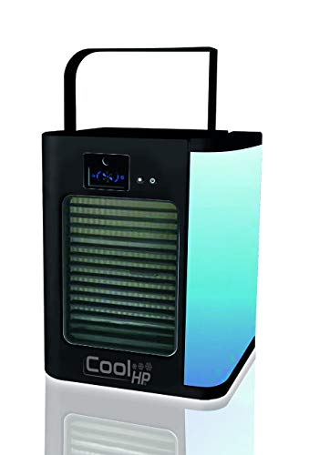 BEST DIRECT As seen on TV Cool HP Black As seen on TV Air Cooler Portable Mini Personal Space Air Conditioner, humidifier for Room, Office,Outdoor