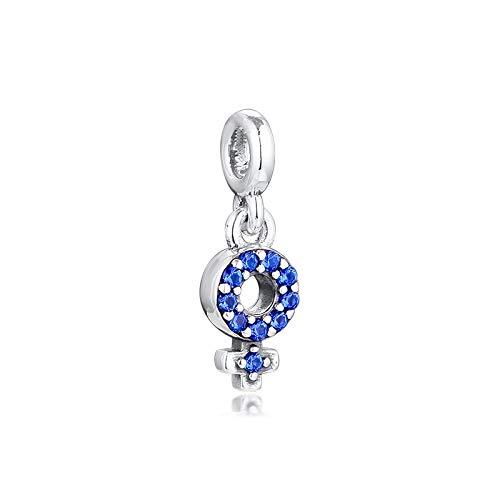 LIIHVYI Pandora Charms para Mujeres Cuentas Plata De Ley 925 My Girl Pride Dangle Me Collection Crystal para Hacer Joyas Enteras Compatible con Pulseras Europeos Collars