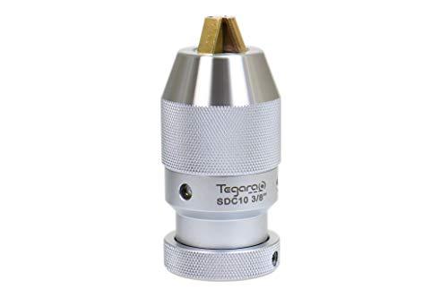 Tegara SDC10 1/32-3/8 in JT33 CNC High Precision Heavy Duty Keyless Drill Chuck 202-4966 P[