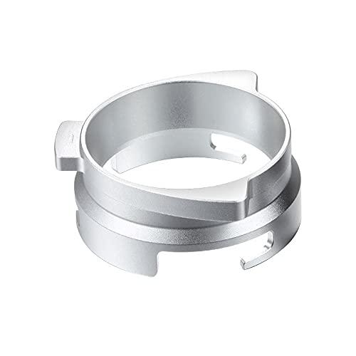 LOOCOO La máquina de café es adecuada para el alimentador giratorio del polvo de la aleación del anillo del polvo de 54m m anti de la mosca