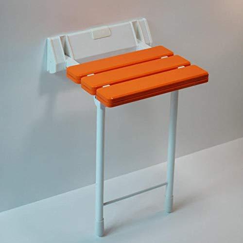 Aluminium legering en buik badkamer vouwen douche stoel muur hangen? In hoogte verstelbaar? Bijzonder geschikt voor ouderen/zwanger/gehandicapten, 330 pond belasting