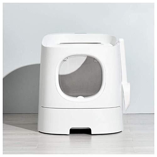 YYhkeby Totalement fermeacute; Toilette filtre Llevar, inodoro para mascotas, dos puertas entrada Cat Litter Box, fácil de limpiar completamente cerrado C. Jialele