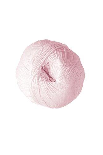 DMC Natura Hilo, 100% algodón, canastilla rosa N06, 9 x 9 x 7 cm