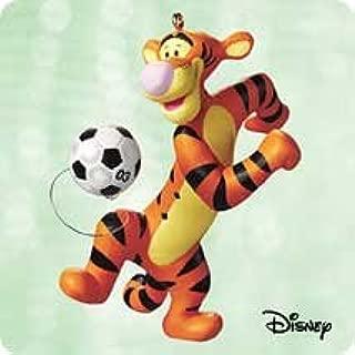 Hallmark QXD5119 Soccer with Tigger Winnie The Pooh 2003 Keepsake Ornament