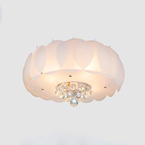 Vast romantische drie-kleuren licht, ronde kristal LED-plafondlampen, vochtige ruimtes lamp voor balkon 319