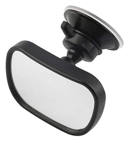 Auto-binnen-achteruitkijkspiegel met zuignap montage – als babyspiegel, achteruitkijkspiegel, extra spiegel voor auto