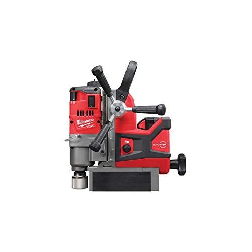Milwaukee 4933451012 Trapano Magnetico M18 FMDP 502C 2 batterie Litio da 18V 5.0Ah, 18 W, 230 V, Red