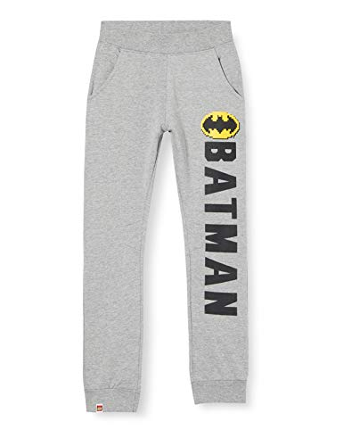LEGO MW-Sweathose Batman Pantaloni da Tuta, 921 Grigio mélange, 4 Anni Bambino