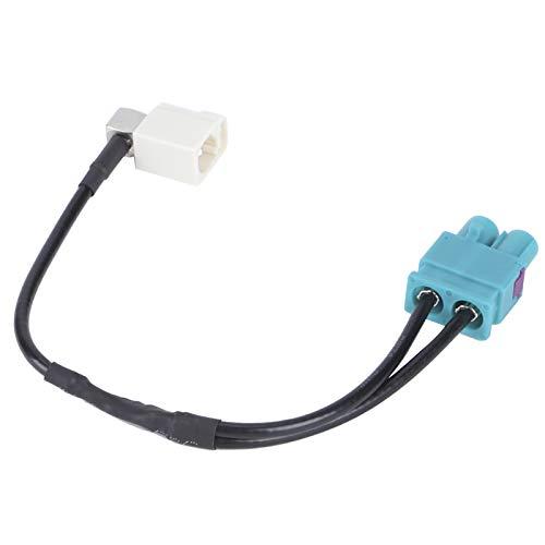 Adaptador de radio FAKRA, accesorios para automóvil Radio está instalado Adaptador de antena de radio Adaptador de antena de diversidad para radio de automóvil