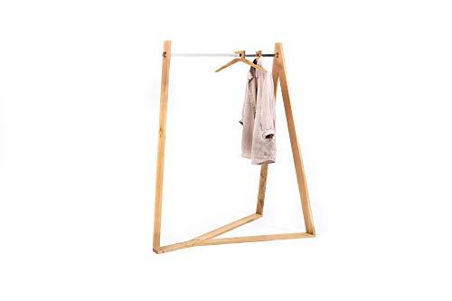 Ypsilon© – Gaderobe/Kleiderständer aus Holz, modernes Design