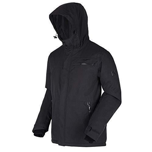 Regatta Volter Shield II Waterproof Insulated Hooded Heated Walking Jacket - AW20 - M - Ash