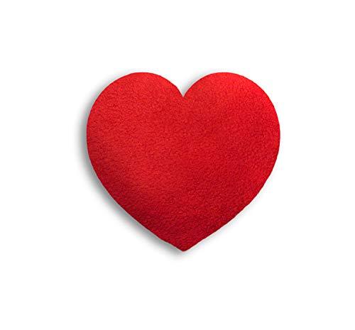 SACO TÉRMICO Leschi de semillas para microondas/para el dolor de estómago/Corazón, pequeño, rojo