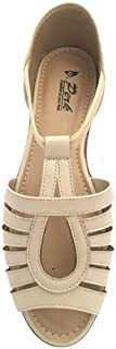Stycom Perk Women casual Sandal with Flat & closed heel and narrow front for better walking grip