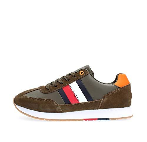 Tommy Hilfiger FM0FM02380 Sneakers Uomo Verde 42