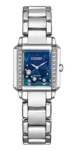 [Citizen] 腕時計 「CITIZEN YELL COLLECTION(シチズン エールコレクション)」 CITIZEN L 世界限定500本 エコ・ドライブ EG7061-58L レディース シルバー