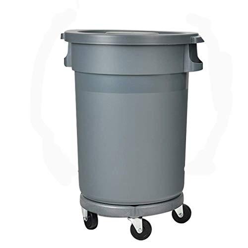 Wielen prullenbak afvalcontainer Outdoor Plastic afval bin Mand Vuilnisbak met deksel Keuken Vuilnisbak Outdoor Vuilnisbak for Patio Camping dsfhsfd