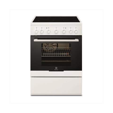 Electrolux - Cucinetta con Piano Cottura Elettrico e Forno Elettrico EKK61360AOW Finitura Bianco da 60cm