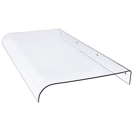 YJKDM Tendalino Invisibile, tendalino Silenzioso/da Sole per portefinestre e finestre, Scheda PC Trasparente da 3,5 mm, Adatta per Porta d'ingresso/condizionatore/Balcone