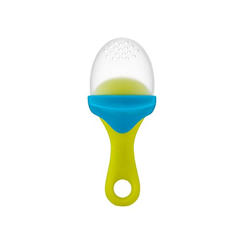Boon Pulp Silicone Feeder, Green/Blue