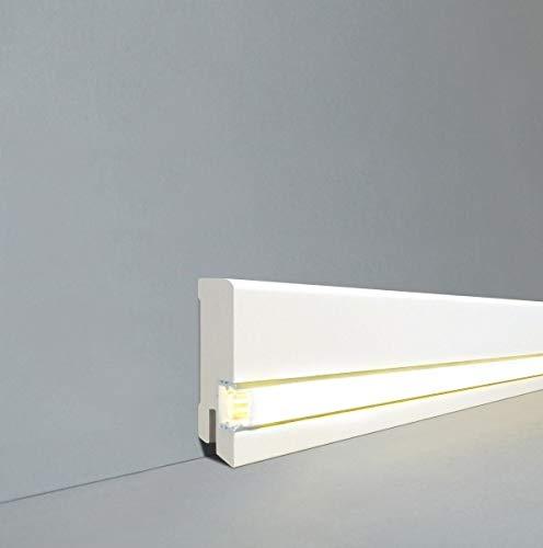 Licht-Fußleiste