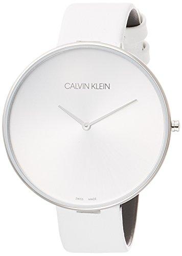 Calvin Klein Orologio Analogico Quarzo Donna con Cinturino in Pelle K8Y231L6