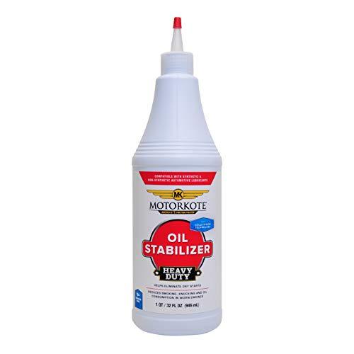Motorkote Heavy Duty Oil Stabilizer, Engine Oil Additive, Low Viscosity MK-50960 32 fl. oz, 1 Pack