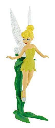 Bullyland 12848 - Spielfigur, Walt Disney Peter Pan, Tinkerbell, ca. 8 cm groß, liebevoll handbemalte Figur, PVC-frei, tolles Geschenk für Jungen und Mädchen zum fantasievollen Spielen