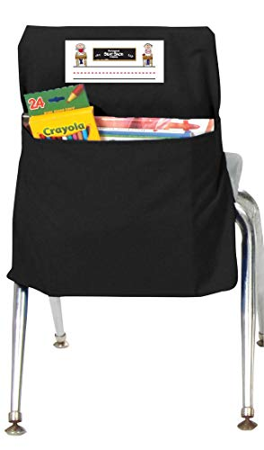 Seat Sack Storage Pocket, Large, 17 Inches, Black