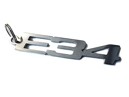 E34 emblème porte-clés en acier inoxydable de haute qualité m5 540I 535I 530I 525ix 525i 520i 524TD 525TD